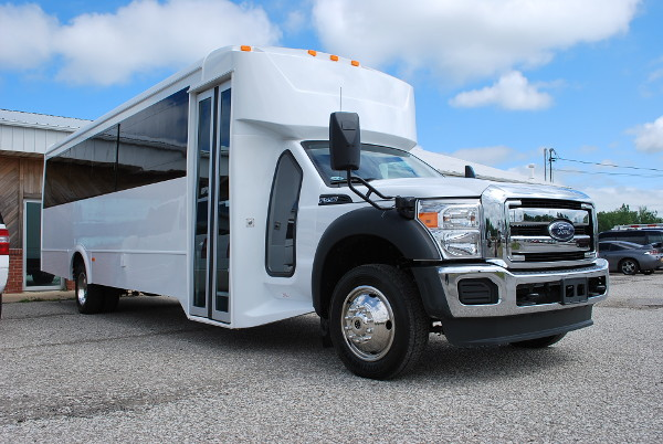 22 Passenger Party Bus Rental Indianapolis Indiana