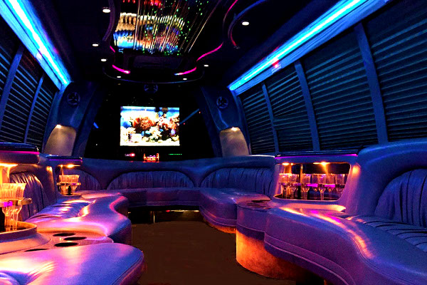 Indianapolis 18 Passenger Party Bus